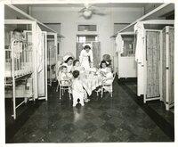 Nurses in Pediatric Room