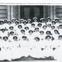 1910 Class of Hebrew Hospital Students and Graduate Nurses
