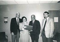 Herman Goldberg and Sinai Board